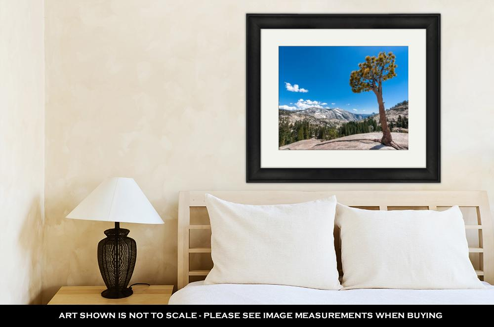 Olmsted Point, Yosemite - Framed Wall Art