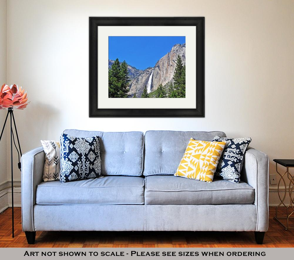Yosemite Falls  - Framed Wall Art