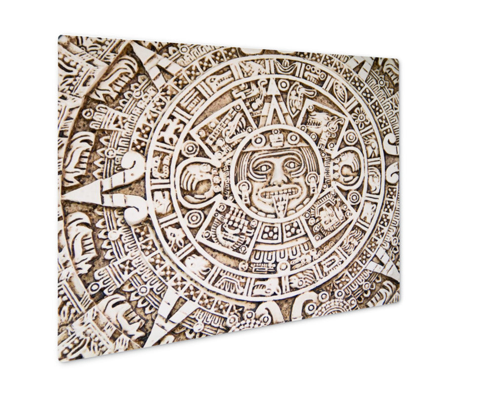 Traditional Mexican Ceramic - Metal Panel Wall Art