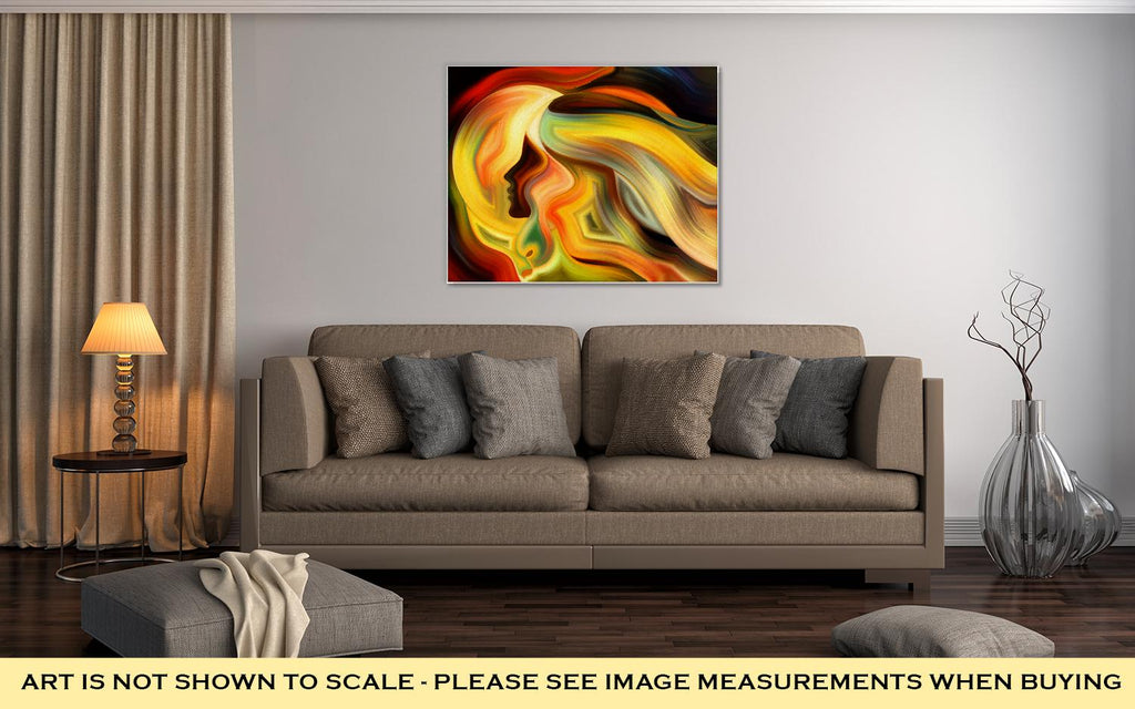 Abstract Expressionism Art - Canvas Wall Art