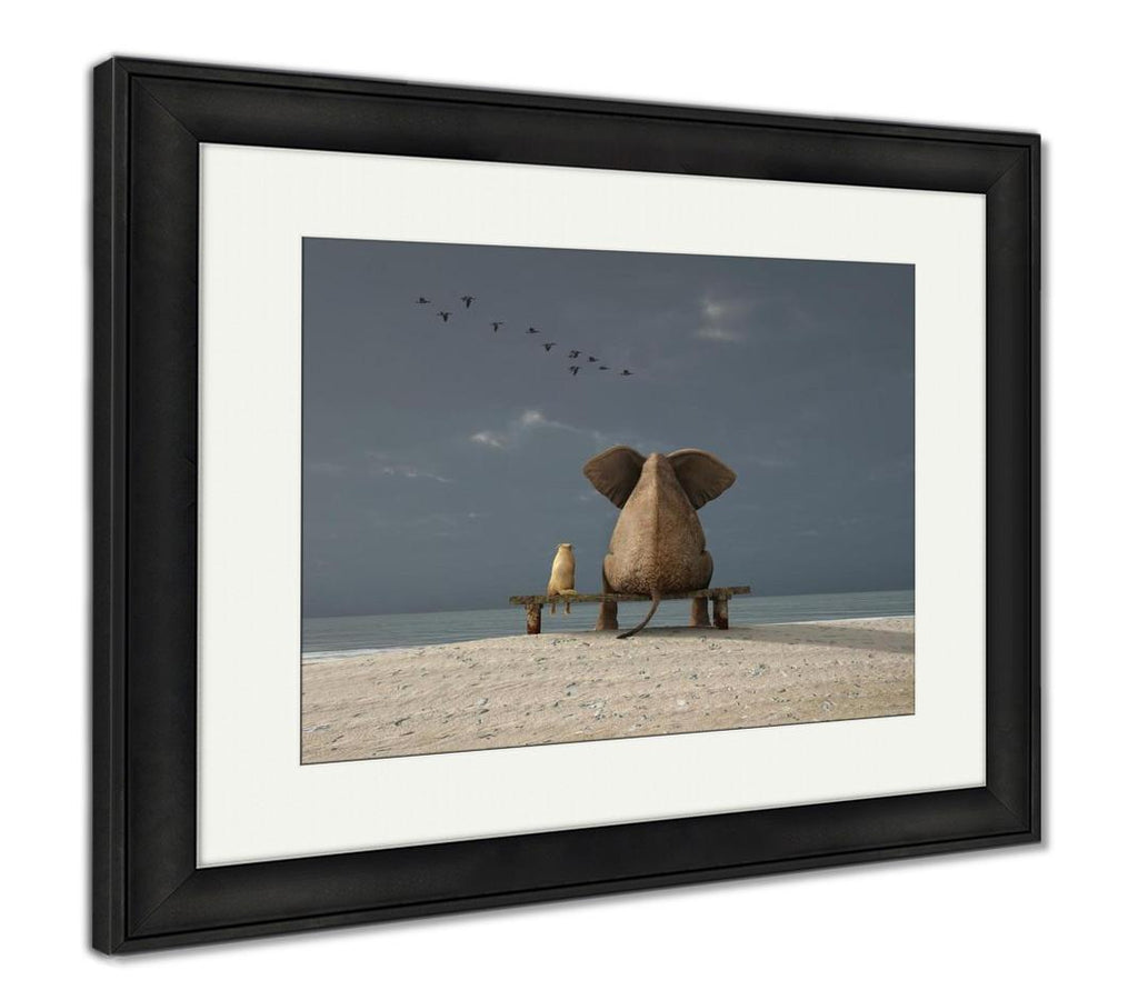 The Animal Kingdom - Framed Wall Art