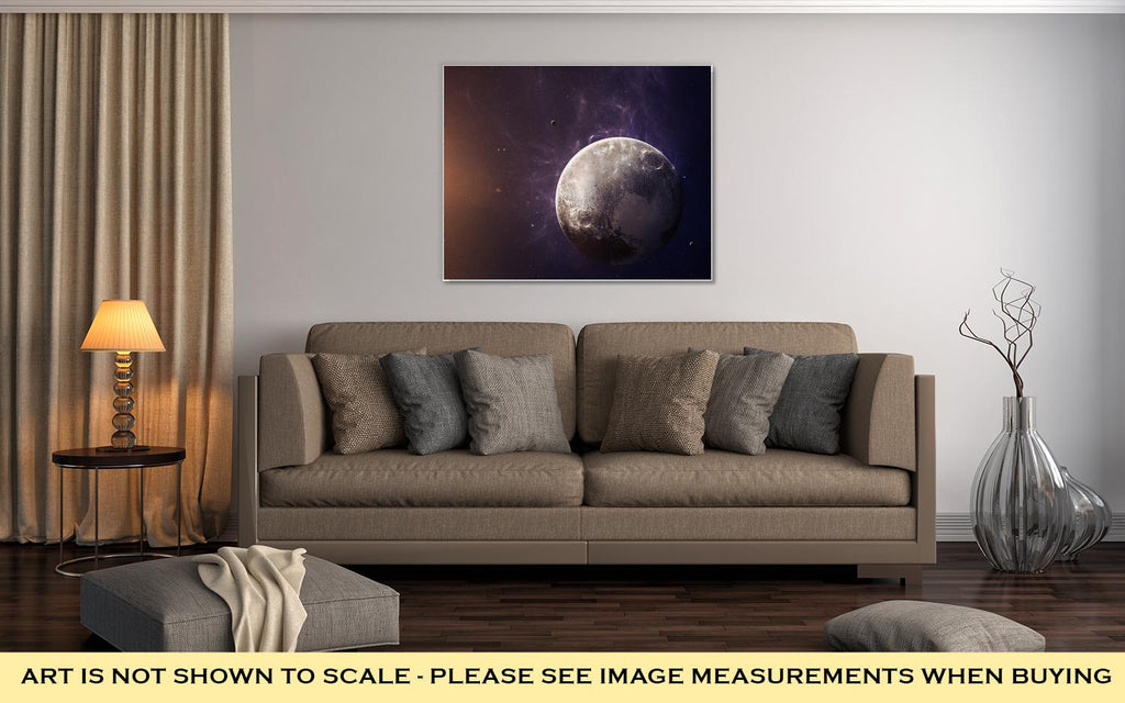 Pluto - Canvas Wall Art