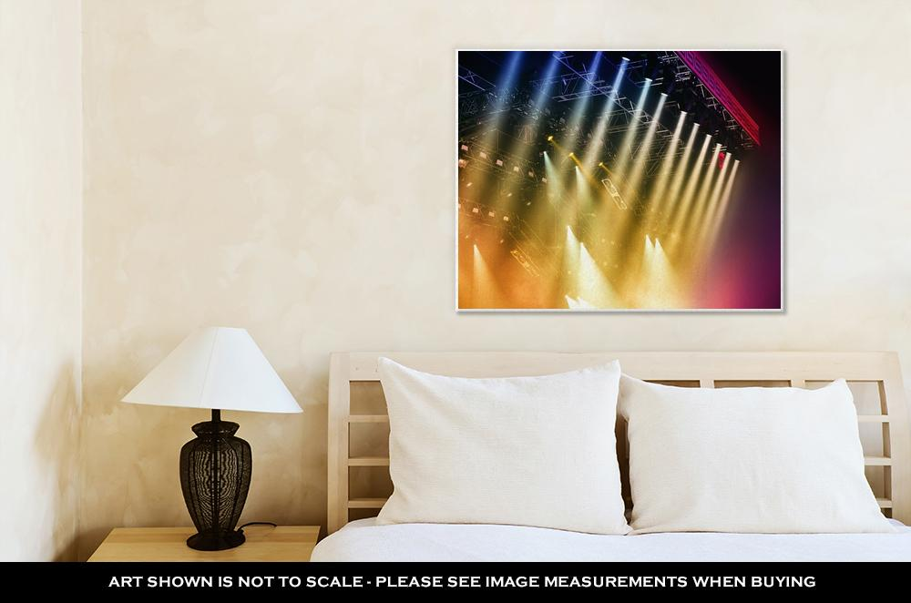 Shine of Music - Canvas Wall Art