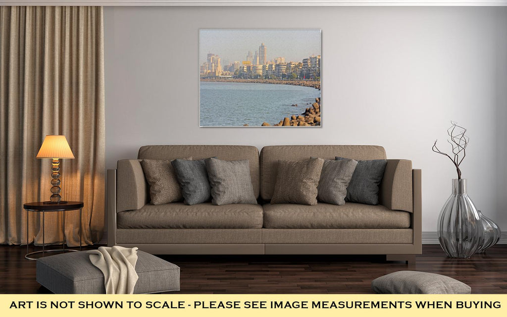 View of Mumbai - Canvas Wall Art