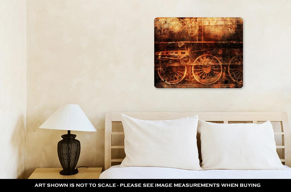 Steampunk - Metal Panel Wall Art