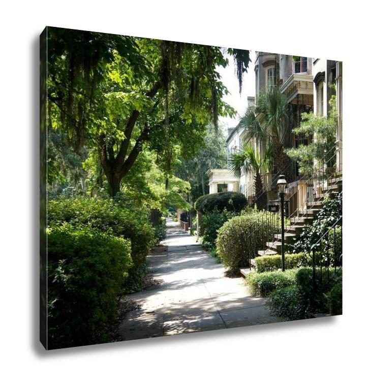 Georgia Sidewalk - Canvas Wall Art