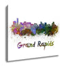 Grand Rapids Skyline - Canvas Wall Art