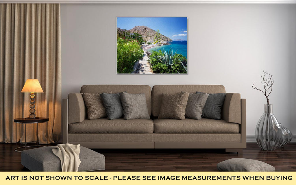 Kamini Beach - Canvas Wall Art
