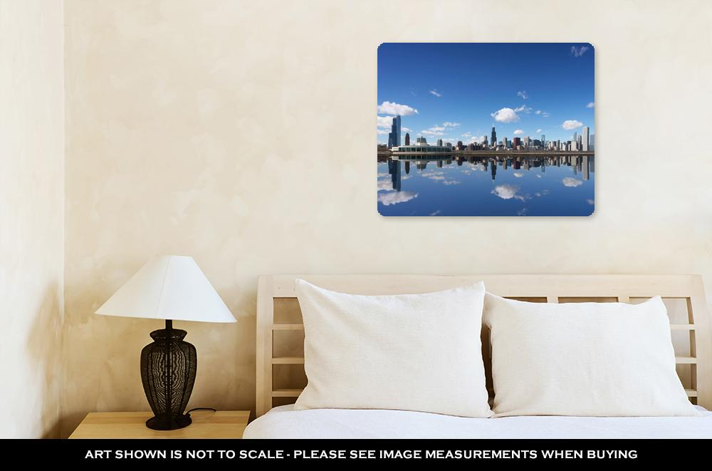 Chicago Cityscape - Metal Panel Wall Art