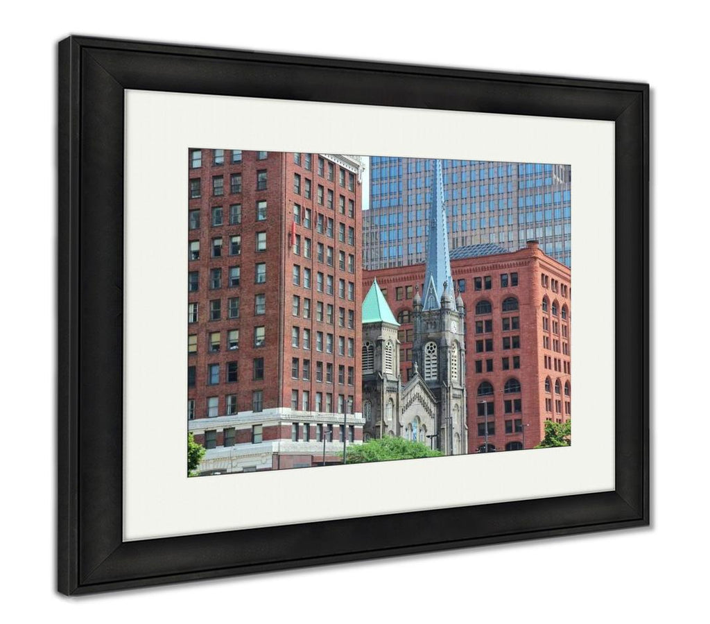Cleveland - Framed Wall Art