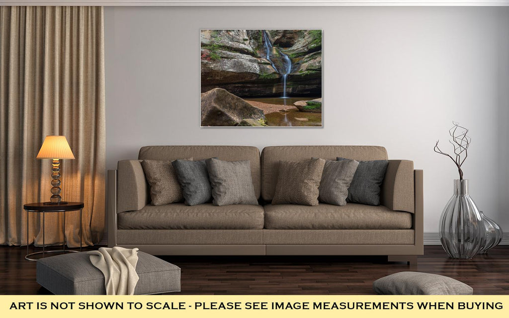 Cedar Falls - Canvas Wall Art
