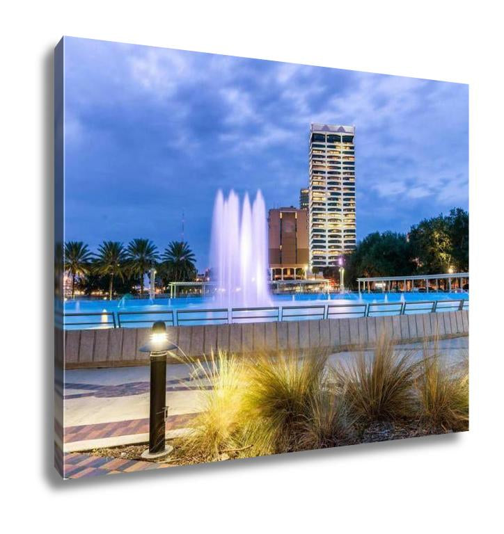 View of Jacksonville - Canvas Wall Art