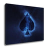 Card of Spades Symbol - Canvas Wall Art