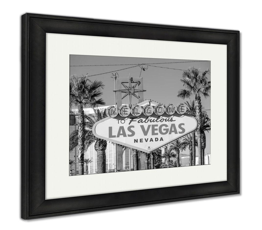 Welcome To Fabulous Las Vegas - Framed Wall Art