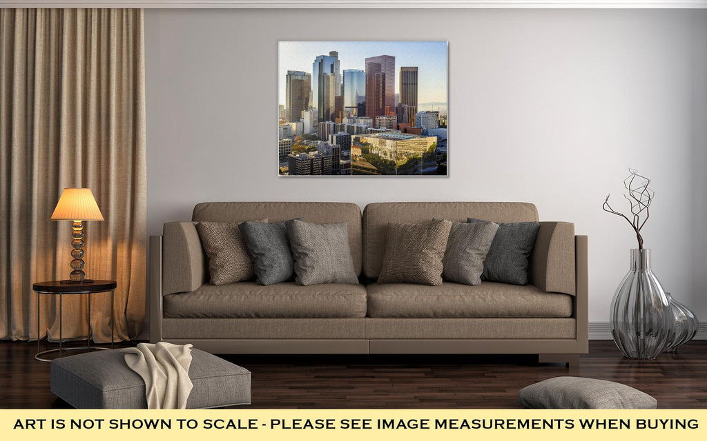 LA Skyline - Canvas Wall Art
