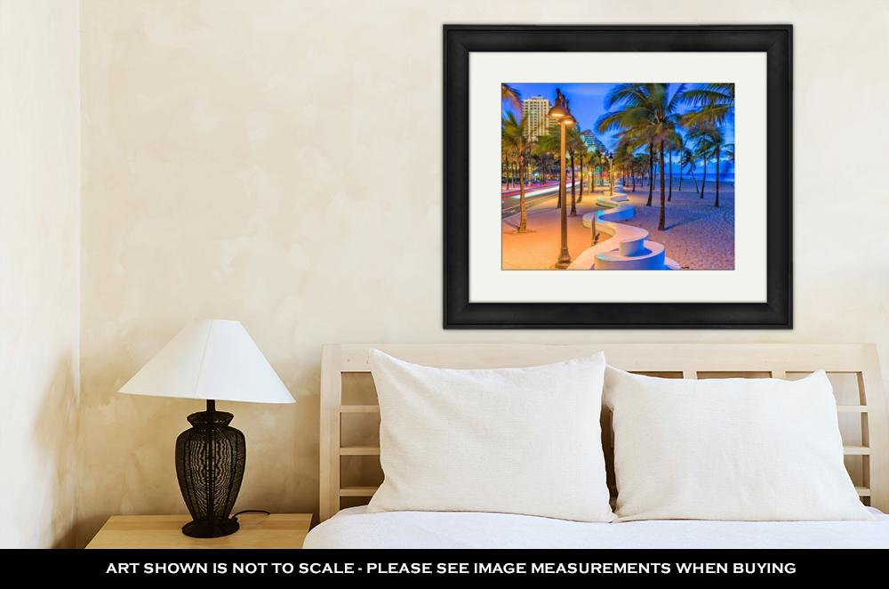 Fort Lauderdale Beach - Framed Wall Art