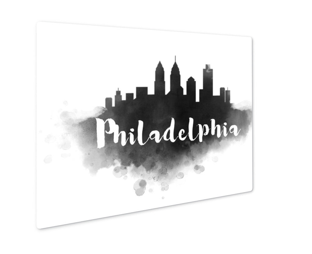 Philadelphia Skyline - Metal Panel Wall Art