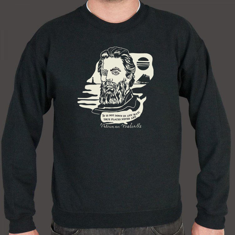Herman Melville Quote Sweater (Mens)
