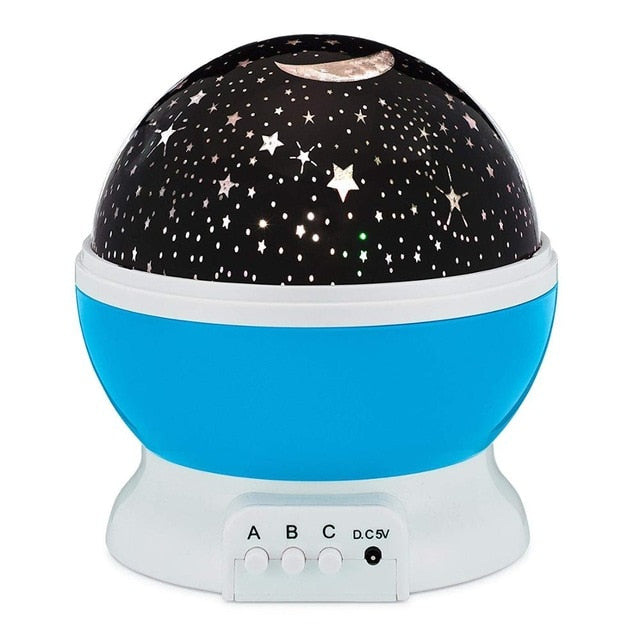 LED star light for kids room / Star projector moon Lamp