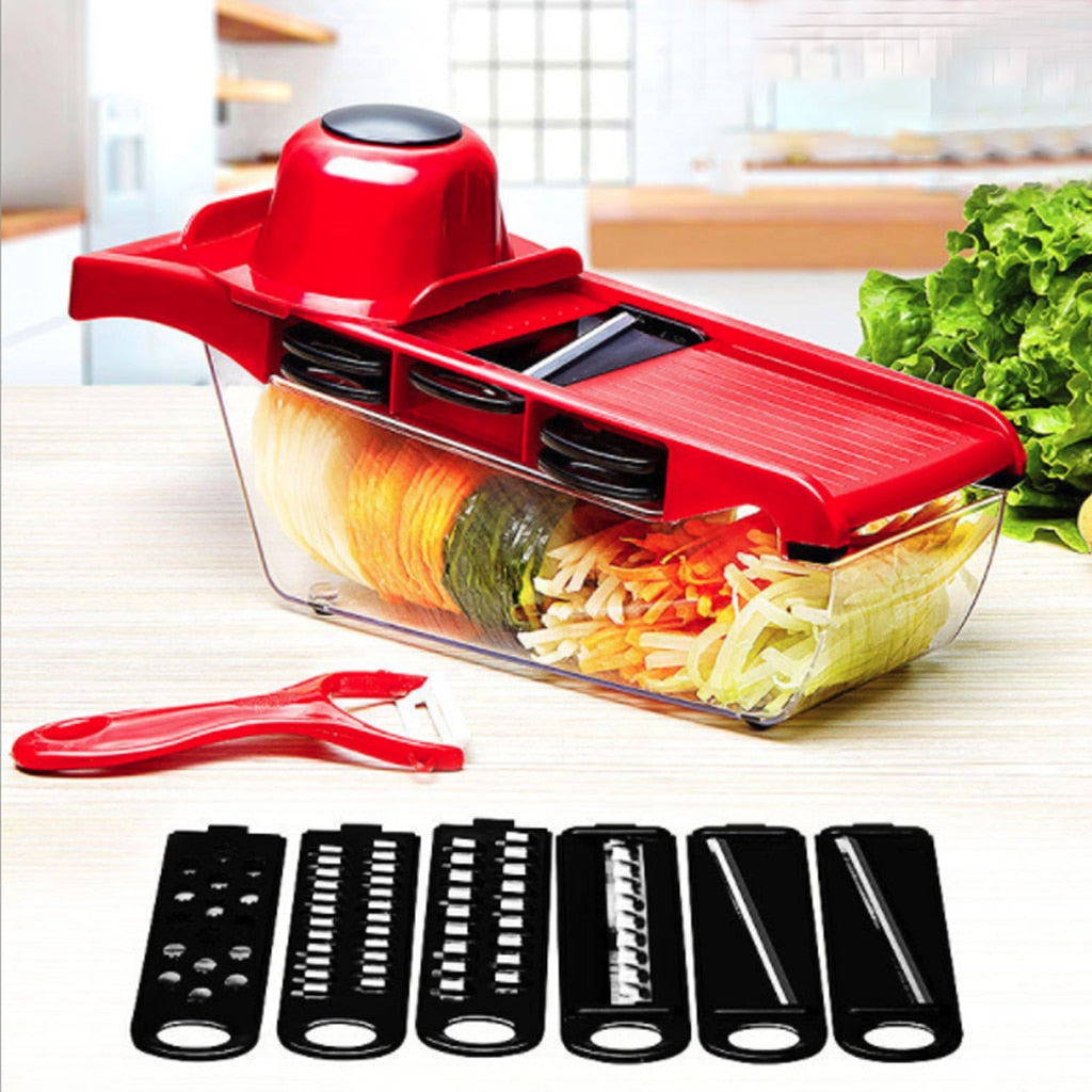 Myvit Vegetable Cutter with Steel Blade