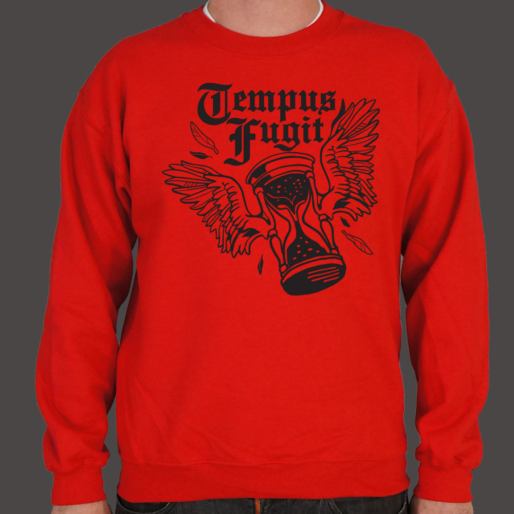 Time Flies Tempus Fugit Sweater (Mens)