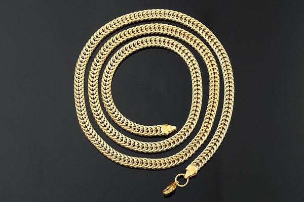 5-6mm 18K Gold Foxtail Chain