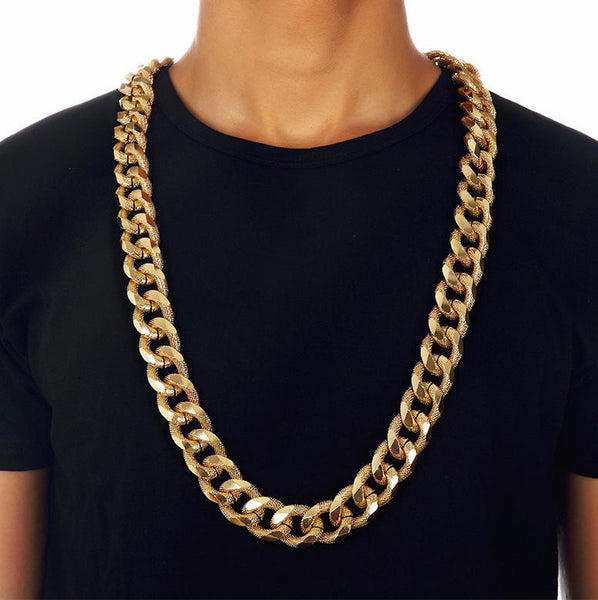 21mm 18K Gold/Silver Miami Cuban Chain [1st variation]