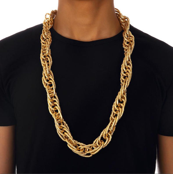 22mm 18K Gold/Silver Prince of Wales Chain