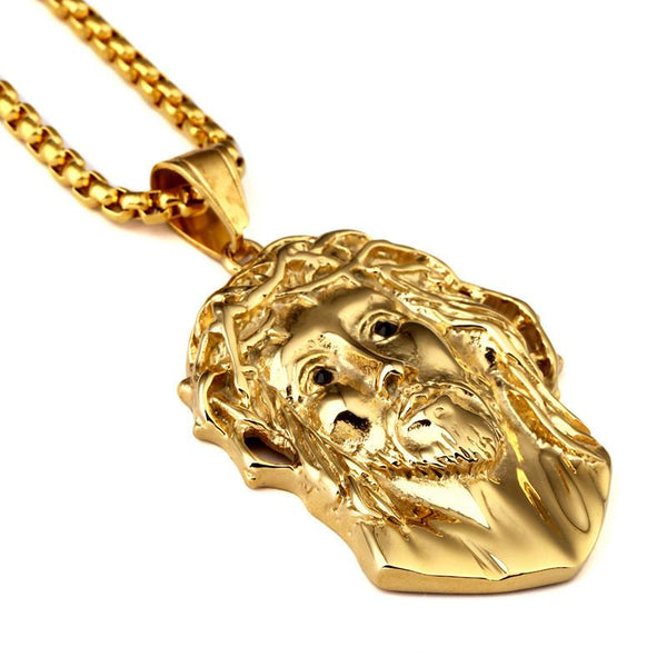 18K Gold Jesus the Lord Pendant