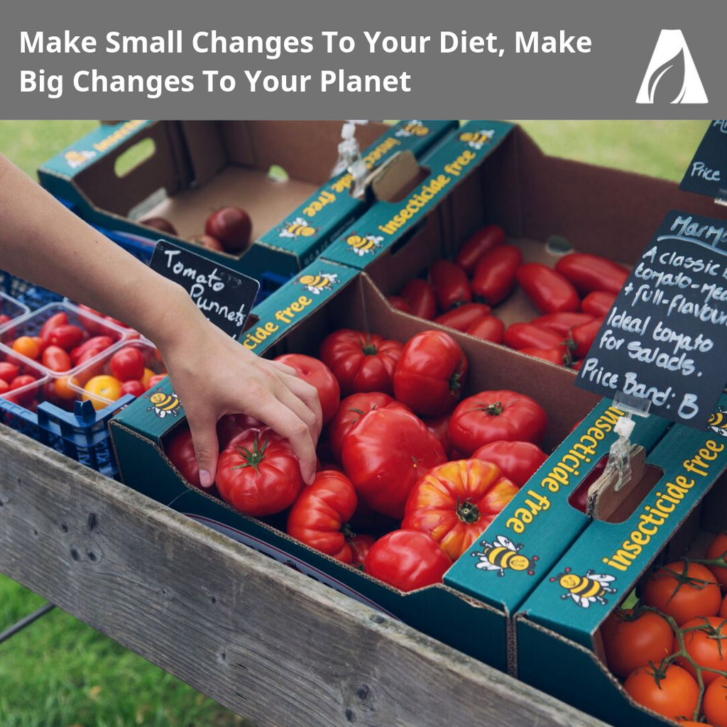Make Small Changes To Your Diet, Make Big Changes To Your Planet
