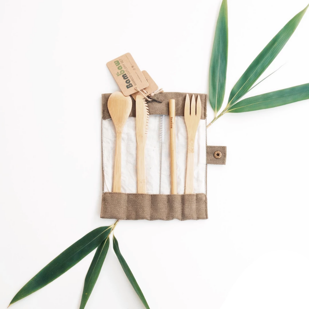 Reusable Bamboo Cutlery by Bambaw