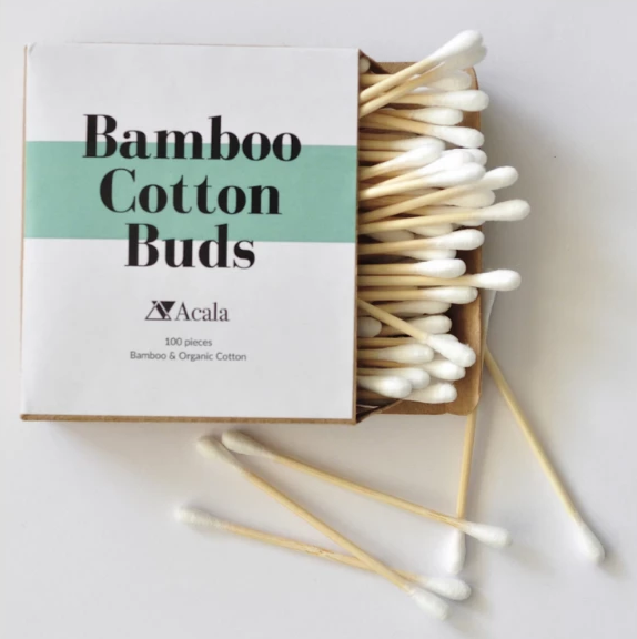 Vegan Bamboo Cotton Buds by Acala
