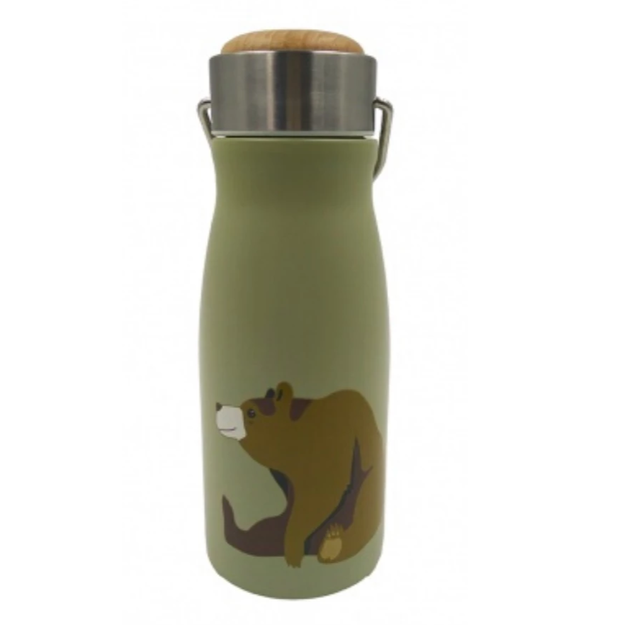 Stainless Steel Bear Kids Flask