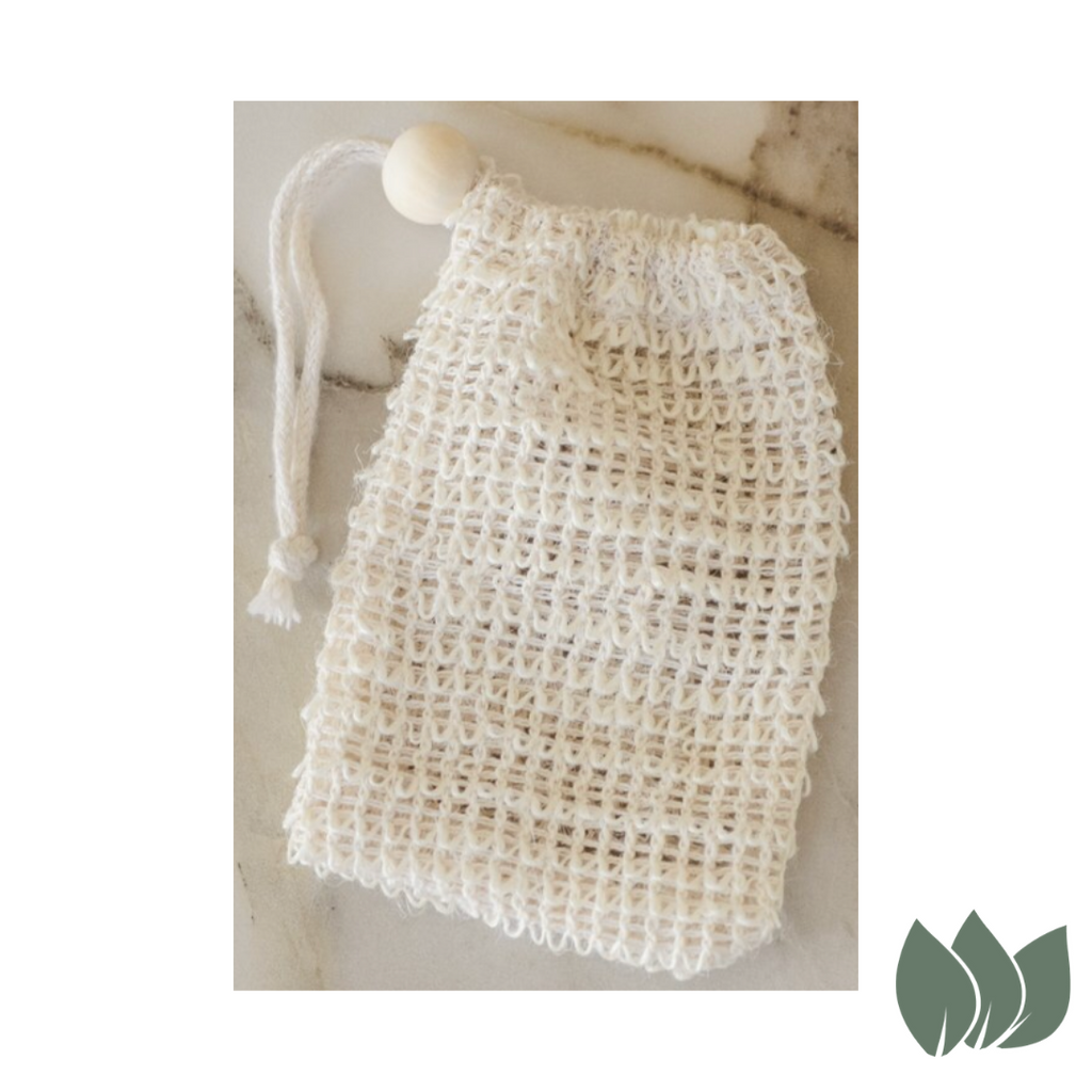 Agave Woven Exfoliating Scrubber Soap Bag