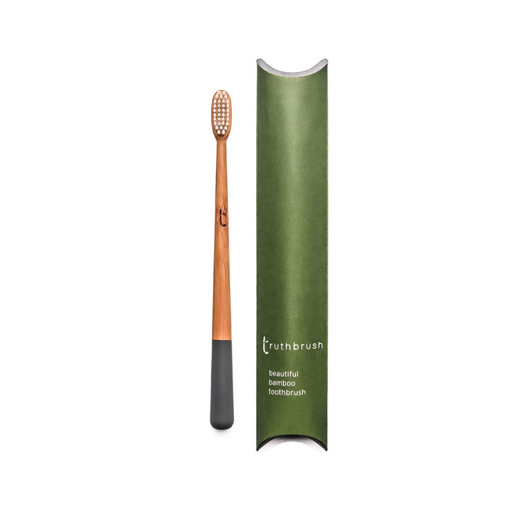 Bamboo Toothbrush by Truthbrush (2 Pack)