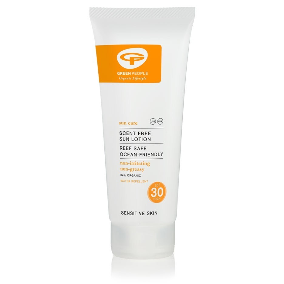 Scent Free Sun Lotion SPF30 by Green People Organic Lifestyle