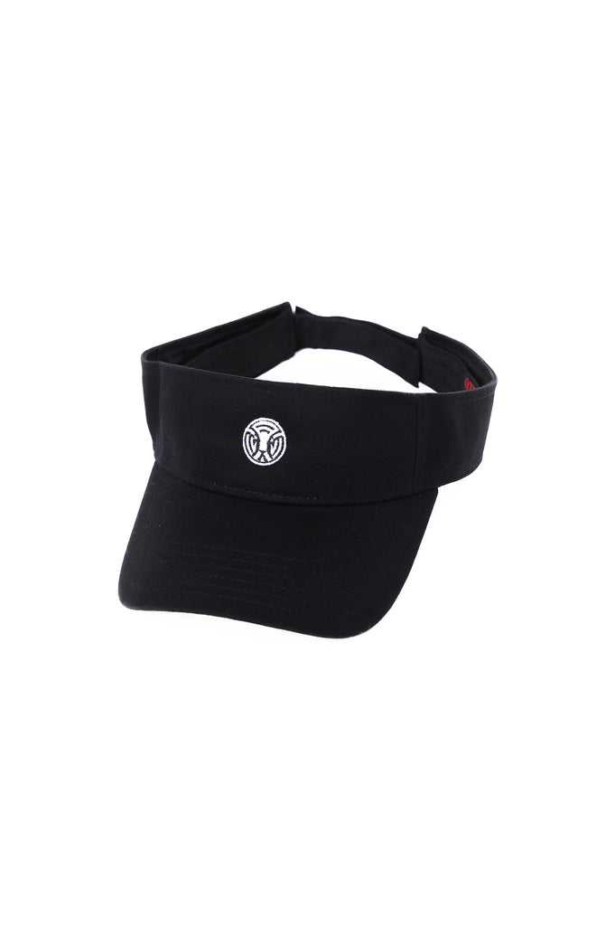King of the Jungle Visor in Black/White