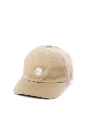 King of the Jungle Dad Hat in Khaki/White