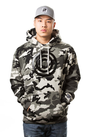 Let It Be Known Snow Camo Hoodie
