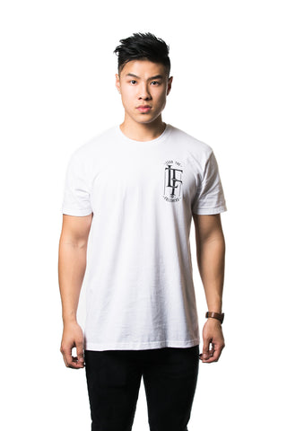 Influence Tee in White/Black