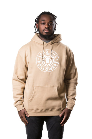 King of the Jungle Hoodie in Khaki/White