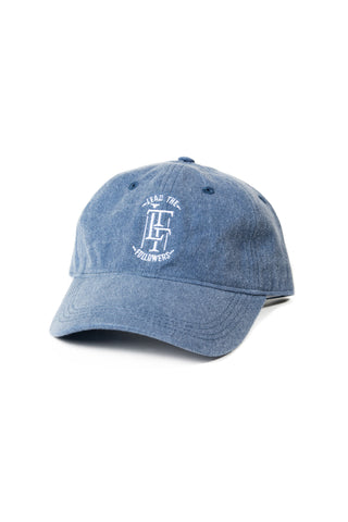 "Charisma dad hat ""Denim"" blue/White"