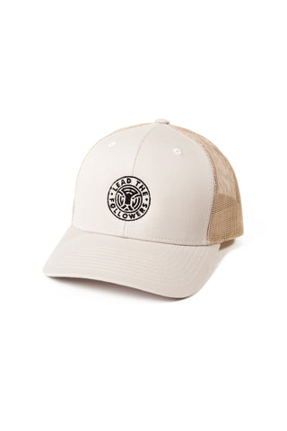 King of the Jungle Trucker in Tan/Black