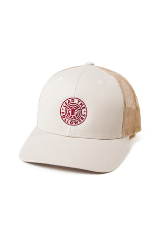 King of the Jungle Trucker in Tan/Burgandy