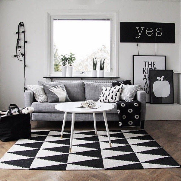 Black and White per un arredamento moderno e di stile
