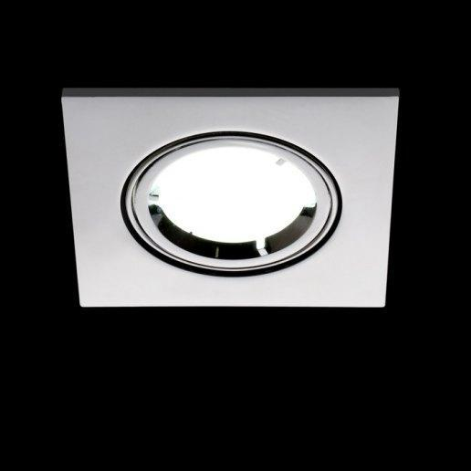 Faretto Incasso QUADRO - Orientabile - LED 7W (Incluso)
