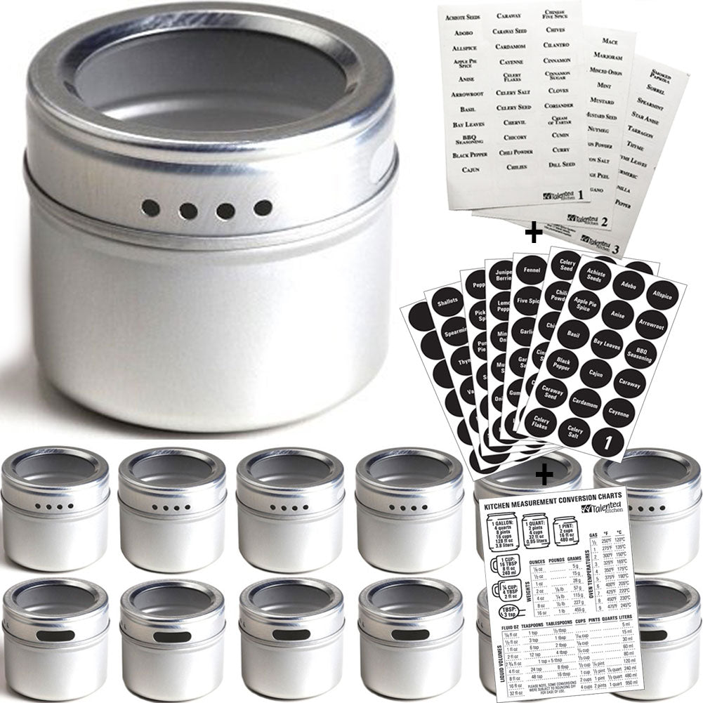 Magnetic Spice Tin Set