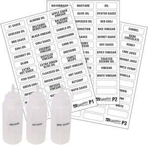 114 Condiments & Sauces, Black Labels