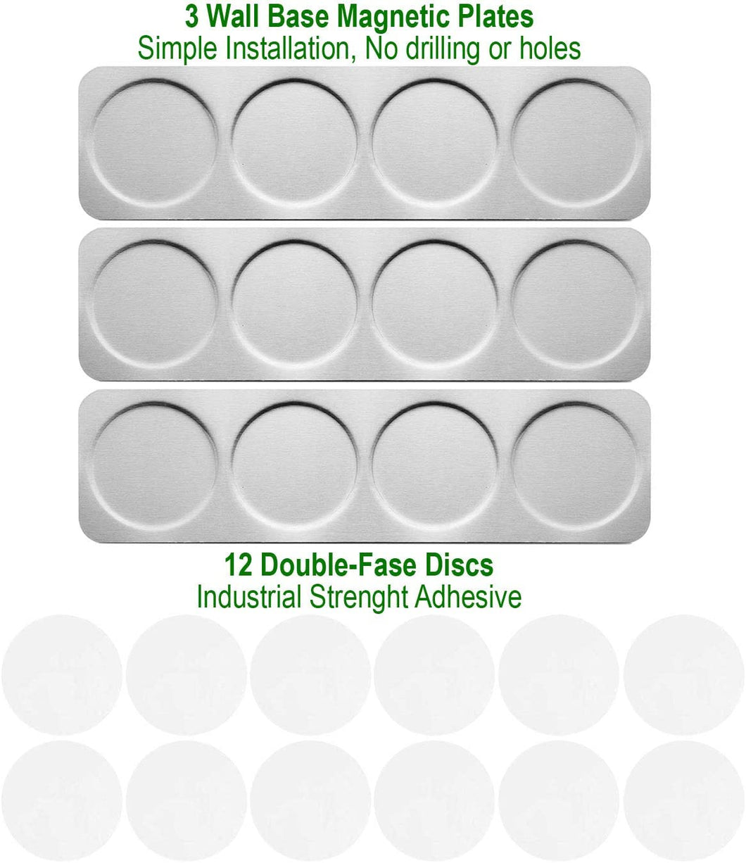Stainless Steel Plates for Magnetic Spice Tins with Back Adhesives