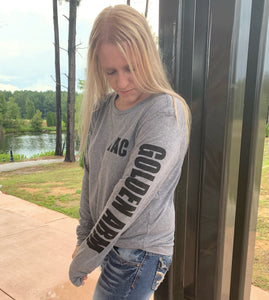 GAC Gray Long Sleeve Shirts